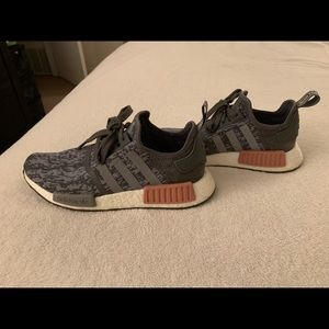 adidas Shoes - Women's Adidas NMD Size 8 Gray & Pink Sneakers
